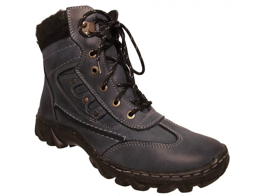 Dámská zimní obuv Madler L 88 modrá