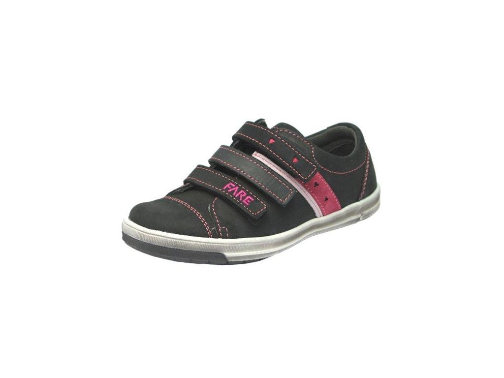 Dívčí celoroční boty Fare 2617213 černé