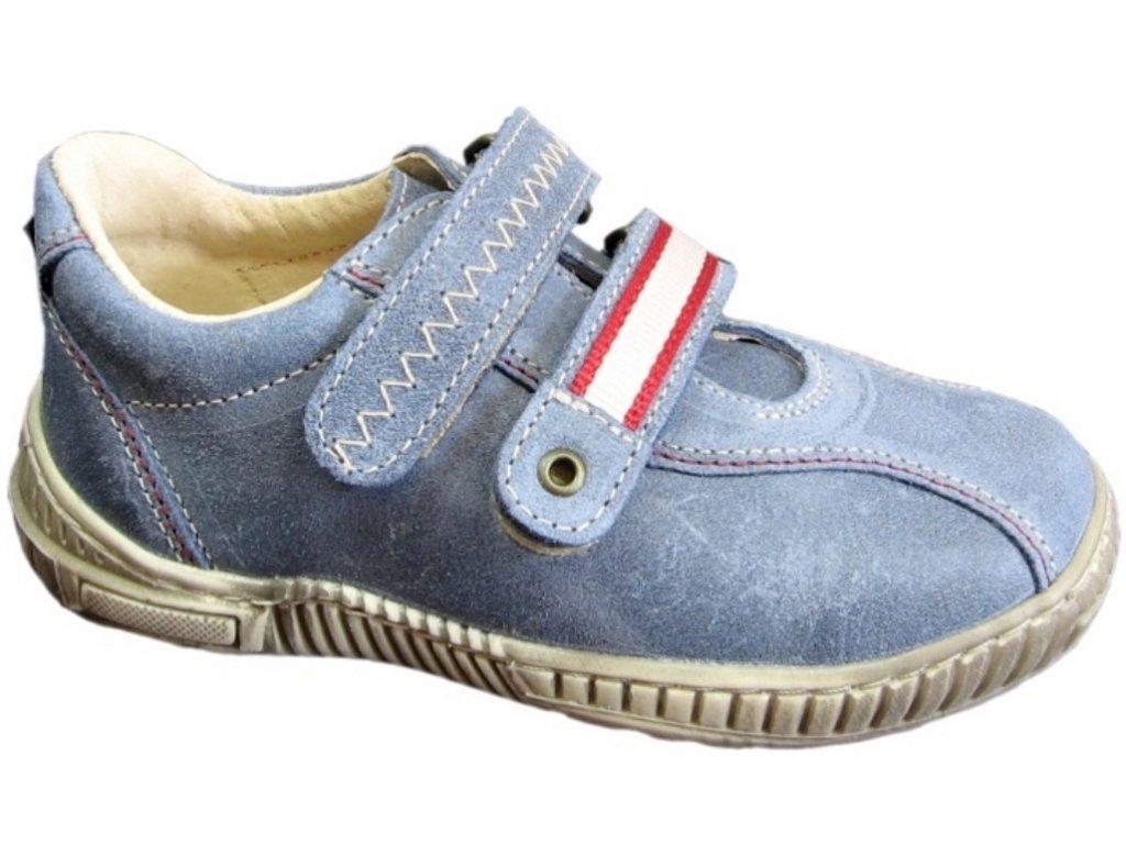 Dětské celoroční boty Pegres 1301 modrá - VLAPA.cz f052624d7b