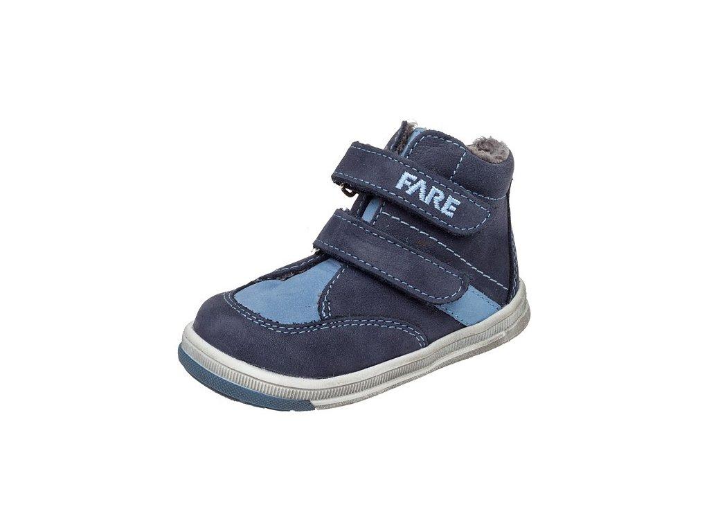 Dětské zimní kotníkové boty Fare 2147103 modré
