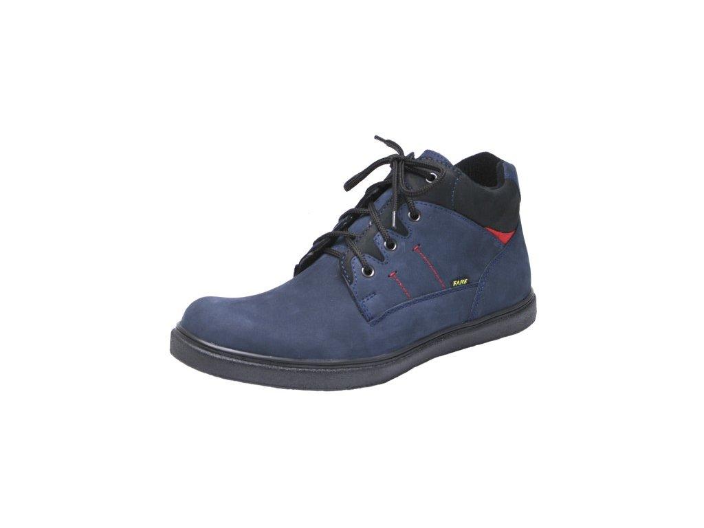 Pánská zimní kotníková obuv Fare 1202201 modrá