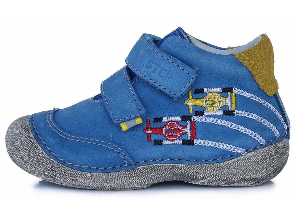 Dětské celoroční boty D.D.step 015-177 modré