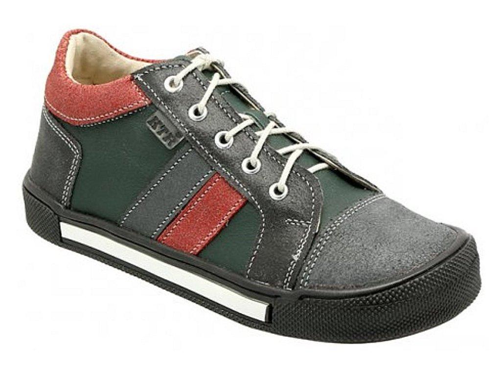 Dětské celoroční boty KTR 165 šedá
