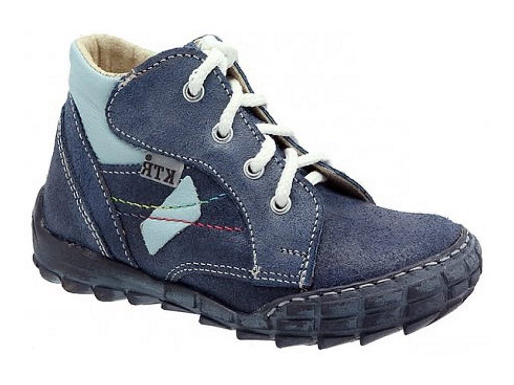Dětské celoroční boty KTR 163 modrá