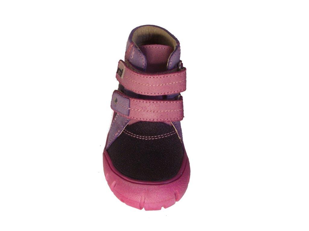 Dětské celoroční boty KTR 162 růžová - VLAPA.cz 72a5c4a824
