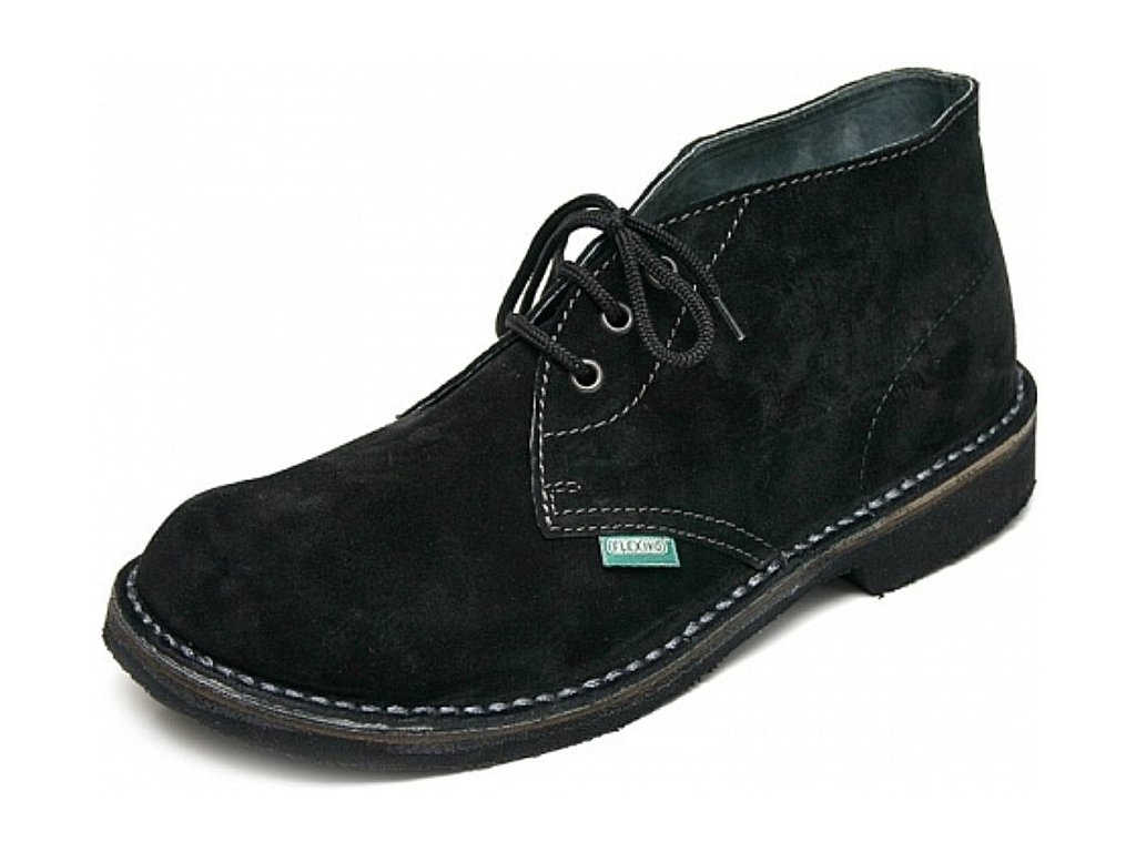 Pánská celoroční obuv Flexiko Sabath černá