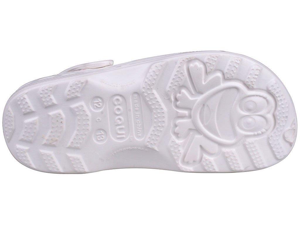 Dětské sandály Crocs Coqui Little Frog bílé - VLAPA.cz 7480955324