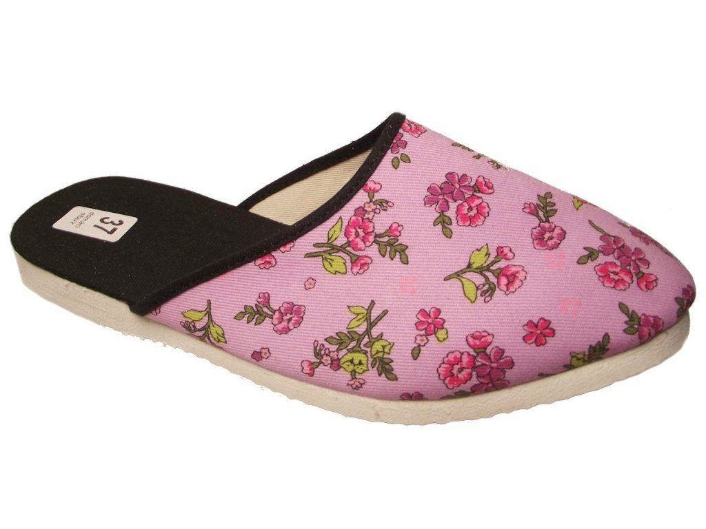 Dámské domácí pantofle Bokap 006 růžová - VLAPA.cz d268f8bc82