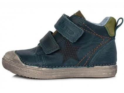 Dětské celoroční boty D.D.step 049-907  šedé