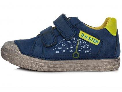 Dětské celoroční boty D.D.step 049-910 modré