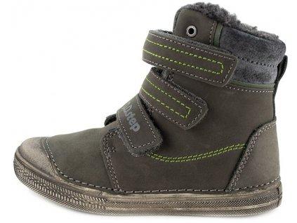Dětské zimní kotníkové boty D.D.step 049-912A šedé