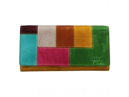 Dámská kožená peněženka Lagen V-17 multi