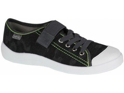 Chlapecké textilní tenisky Befado 251Q056 šedé