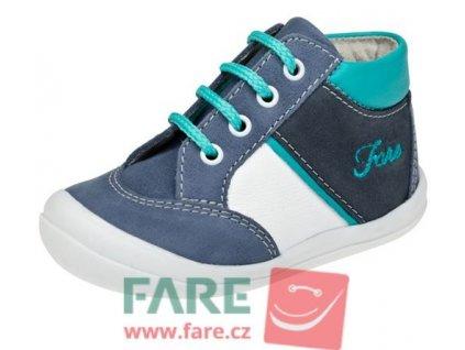 Dětské celoroční kotníkové boty Fare 2121101 modré