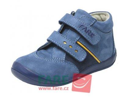 Dětské celoroční kotníkové boty Fare 2121251 modré