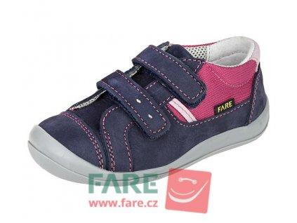 Dětské celoroční boty Fare 812203 modré