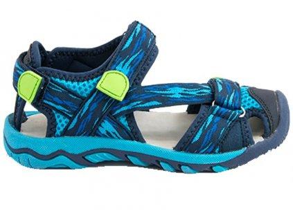 Dětské sportovní sandály Bugga B00161 modré