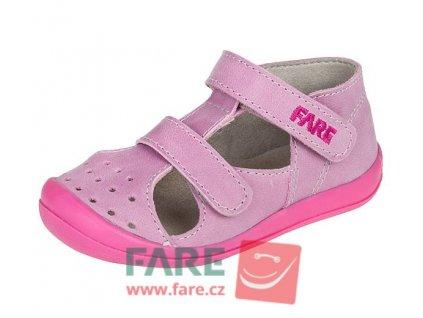 Dětské letní sandálky Fare 868191 růžové