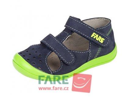 Dětské letní sandálky Fare 868201 modré