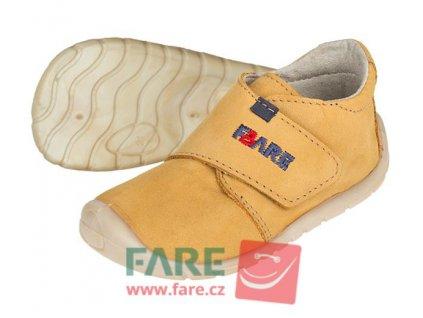 Dětské celoroční boty Fare Bare 5012281 žluté