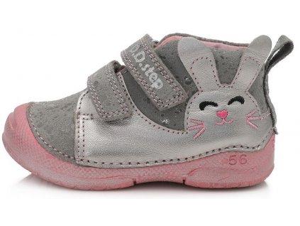 Dětské celoroční boty D.D.step 038-704 šedé