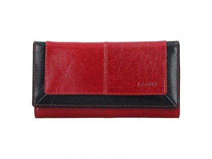 Dámská kožená peněženka Lagen BLC 4228 červená