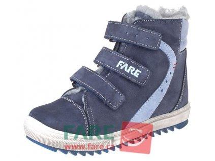 Dětské zimní kotníkové boty Fare 841201 modré