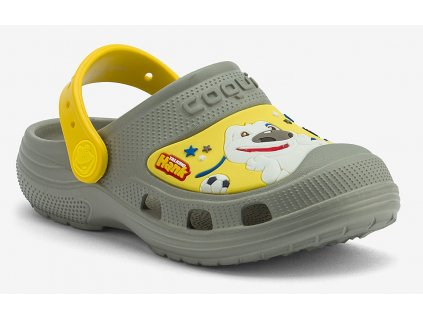 Dětské sandály Coqui Maxi šedé