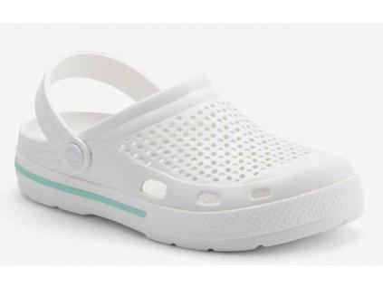 Sandály crocs Coqui LINDO bílá