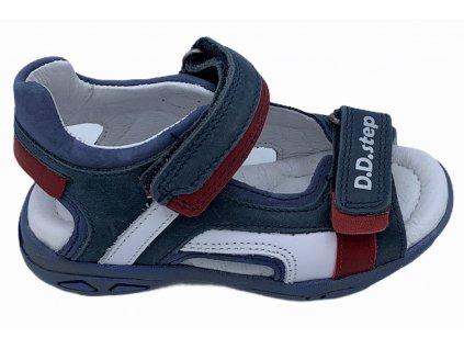 Dětské letní sandálky D.D.step AC290-434 modré