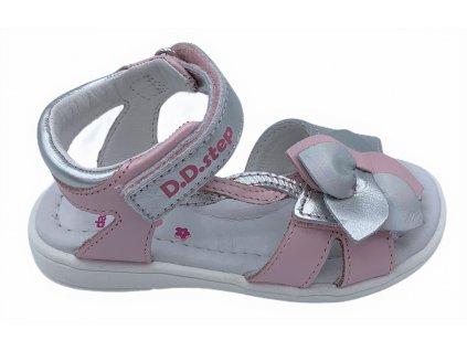 Dětské letní sandálky D.D.step K03-971 růžové
