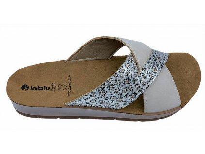 Dámské letní pantofle Inblu CP 09 béžové