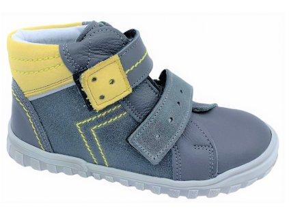 Dětské celoroční boty Essi 2146 šedé