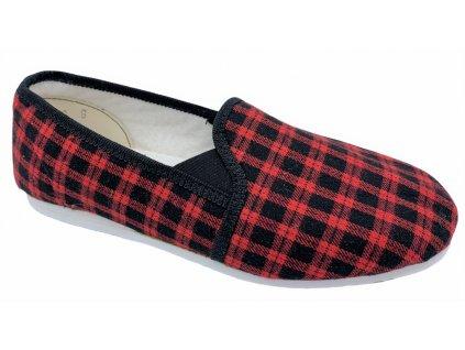 Dámské domácí papuče Bokap 082 červené