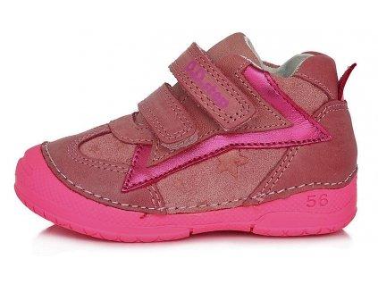 Dětské celoroční boty D.D.step 038-611A růžová