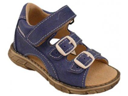 Dětské letní sandálky Pegres 1200 modré