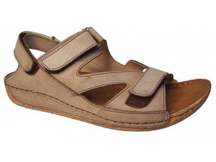 Dámské letní sandály Kira 567 béžové