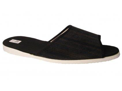 Pánské domácí pantofle Bokap 017 černá