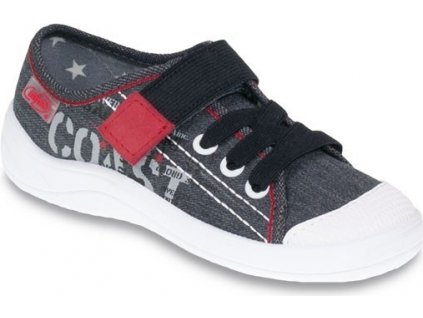 Chlapecké textilní tenisky Befado 251Q063 šedé
