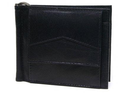 Pánská kožená dolarovka Lagen W 2018 černá