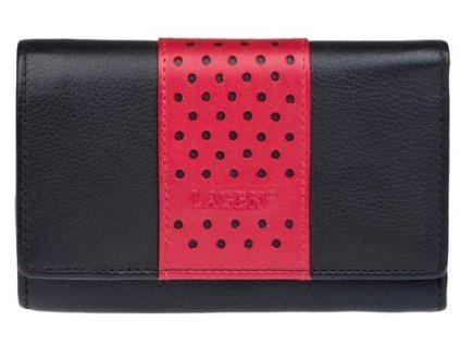 Dámská kožená peněženka Lagen V-16 černá