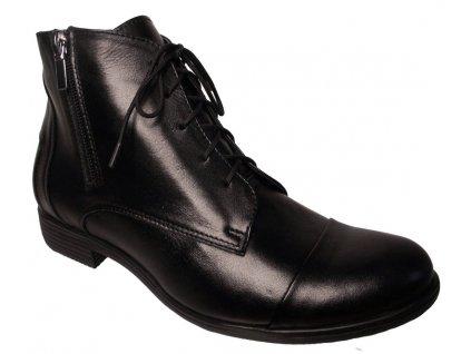 Dámské zimní kotníkové boty Hujo PIN 15 černé