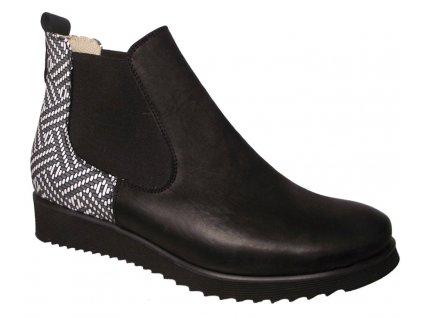 Dámské celoroční boty Hujo J 3108 černé