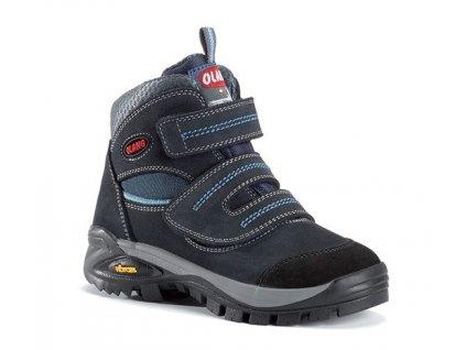 Dětská kotníková treková obuv Olang Fox kid.Tex tmavě modrá 558db14273