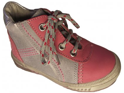 Dětské celoroční boty Essi S 2563 růžová