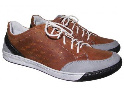 Pánská vycházková obuv Hujo KR 307 oranžová