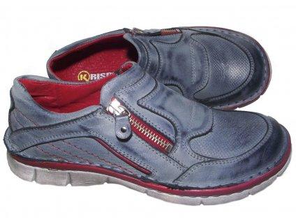 Dámská vycházková obuv Hilby Krisbut 2219 modrá