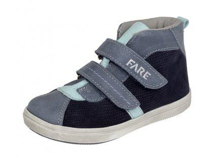 e6f3e8f89e7 Dětské celoroční kotníkové boty Fare 819301 modré