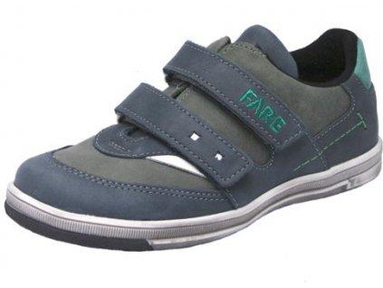Dětské celoroční boty Fare 2615163 šedé f34574b3d7