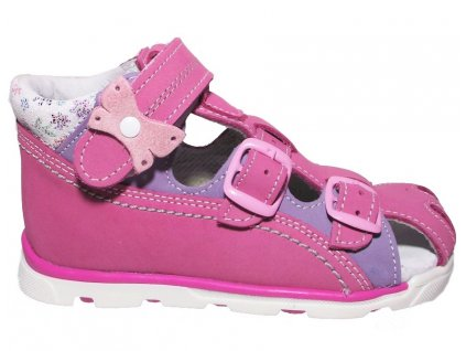 Dětské letní sandálky Essi S 1713 růžové
